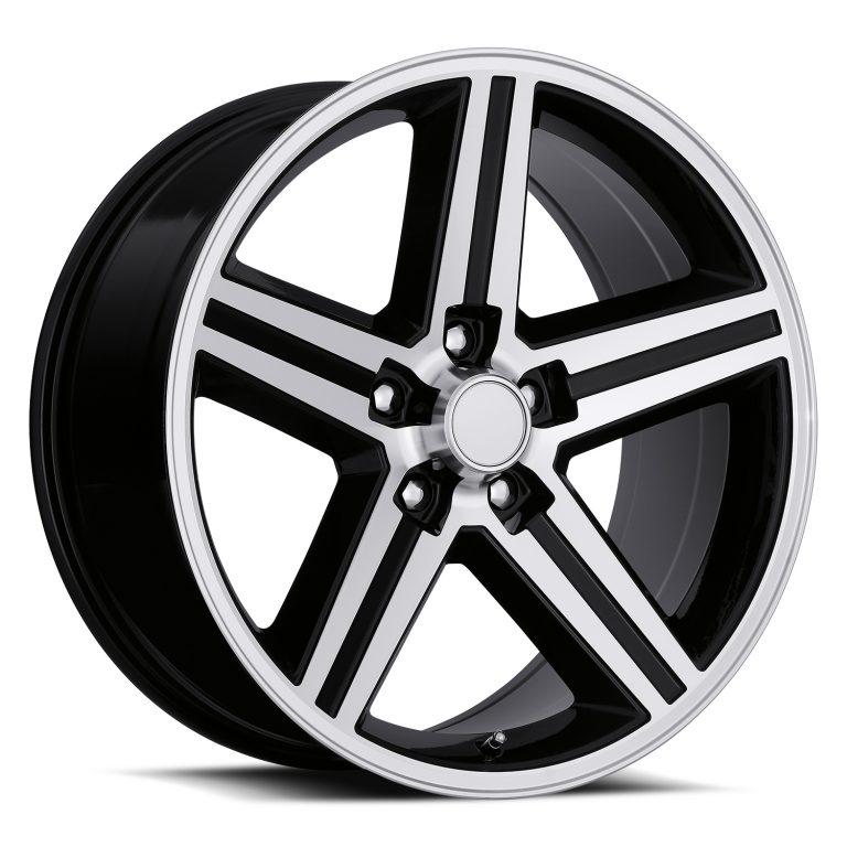 FR11-0000-5lug-Black-Machine-Face-07-IROC-factory-reproductions-wheels-rims-std-1500