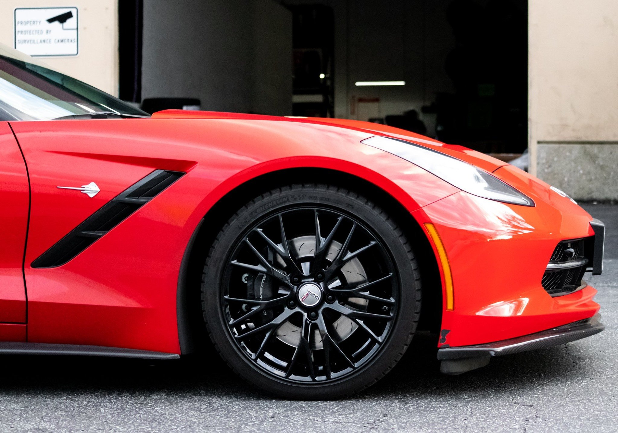 Wheel Bolt Pattern - Wheel on Car